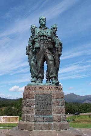 Commando Memorial, near Spean Bridge, Scotland