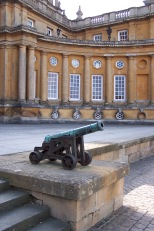 Cannon at North Entrance of Blenheim Palace