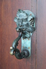 Door handle at Blenheim Palace