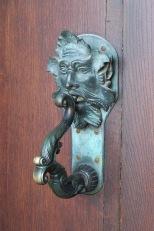 Door handle at Blenheim Palace