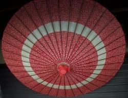 Umbrella in Kisoji Old Post Town
