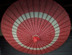 Umbrella in Kisoji Old Post Town