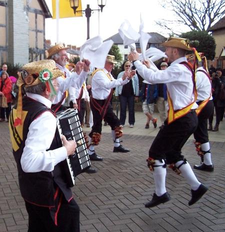 Morris Dancers, Stratford-upon-Avon, England