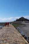 Causeway to St. Michael's Mount, Cornwall, England