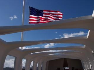 Inside the memorial